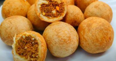 Dry kachori recipe in gujarati
