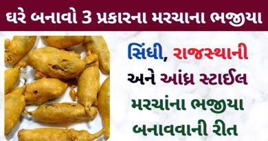 marcha na bhajiya banavani rit