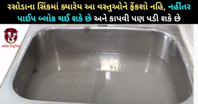 kitchen sink mate tips in gujarati